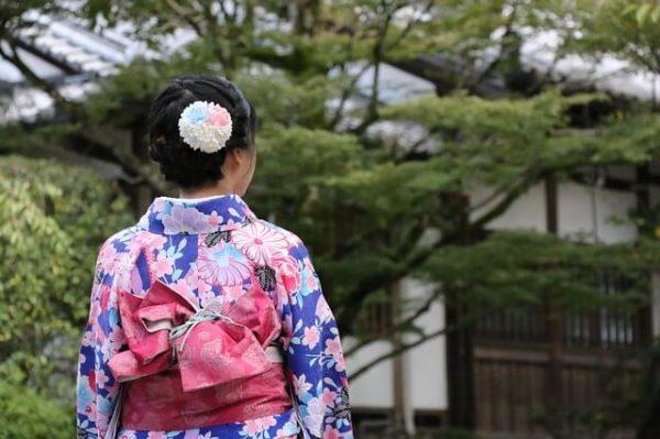 着物で歌舞伎鑑賞