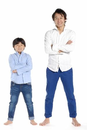 歌舞伎役者は父と息子が共に演じる