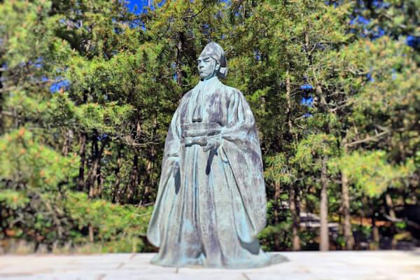 富樫左衛門像(安宅の関)