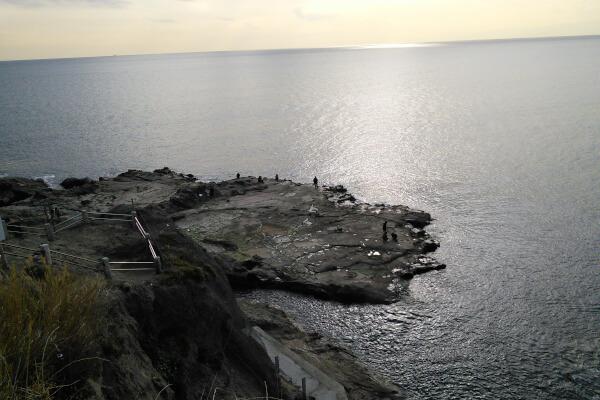 江ノ島の稚児ヶ淵