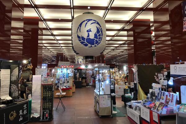 歌舞伎座地下2階の木挽町広場