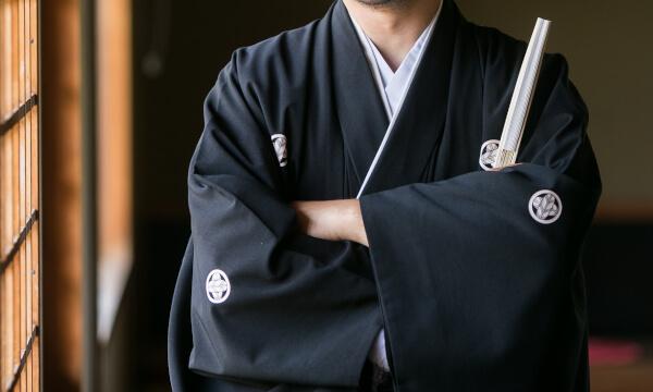 紋付袴が似合った十八代目中村勘三郎
