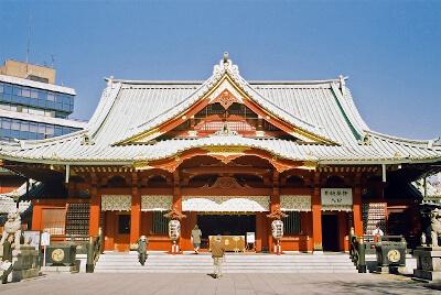 尾上菊之助と波野瓔子さんが結婚式を挙げた神田明神