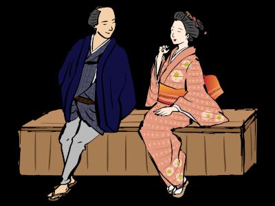 与三郎とお富