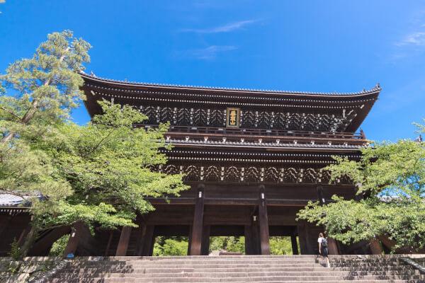 京都南禅寺の三門(山門)