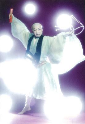 歌舞伎座六月大歌舞伎第三部で日蓮を演じる市川猿之助